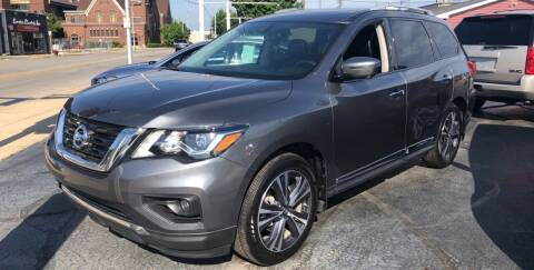 2018 Nissan Pathfinder for sale at N & J Auto Sales in Warsaw IN