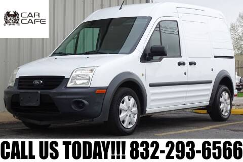 2012 Ford Transit Connect for sale at CAR CAFE LLC in Houston TX