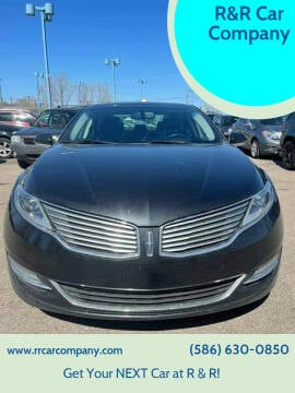 2015 Lincoln MKZ for sale at R&R Car Company in Mount Clemens MI
