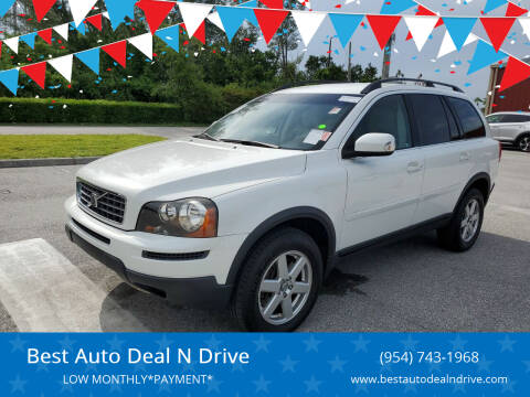 2007 Volvo XC90 for sale at Best Auto Deal N Drive in Hollywood FL