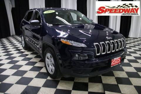 2016 Jeep Cherokee for sale at SPEEDWAY AUTO MALL INC in Machesney Park IL
