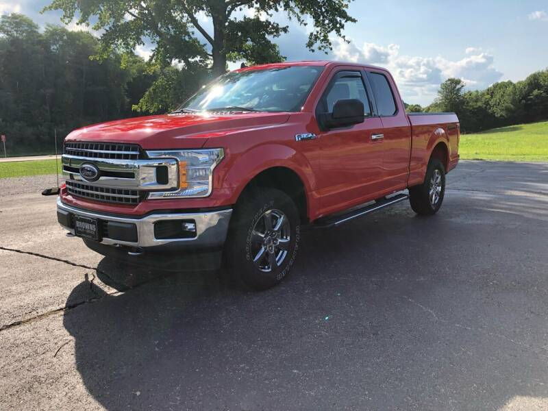 2020 Ford F-150 for sale at Browns Sales & Service in Hawesville KY