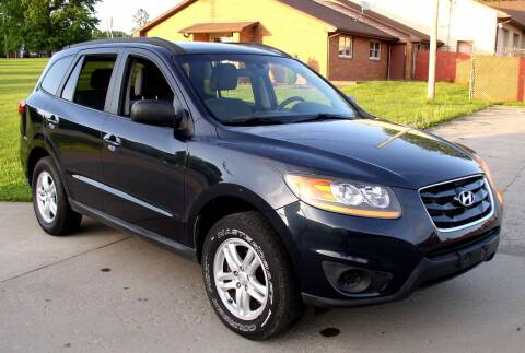 2010 Hyundai Santa Fe for sale at Angelo's Auto Sales in Lowellville OH