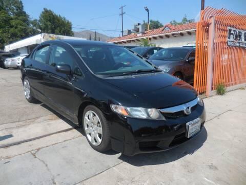 2011 Honda Civic for sale at ARAX AUTO SALES in Tujunga CA