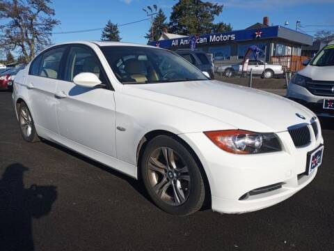 2008 BMW 3 Series for sale at All American Motors in Tacoma WA