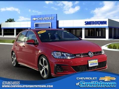 2018 Volkswagen Golf GTI for sale at CHEVROLET OF SMITHTOWN in Saint James NY