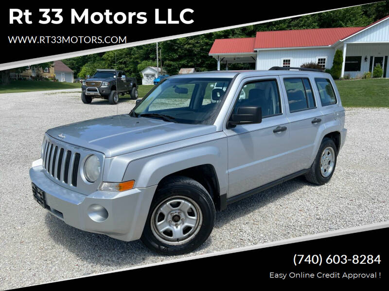2007 Jeep Patriot for sale at Rt 33 Motors LLC in Rockbridge OH