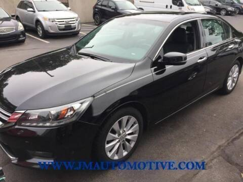 2014 Honda Accord for sale at J & M Automotive in Naugatuck CT