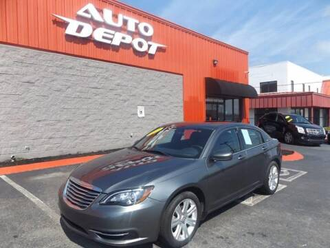 2012 Chrysler 200 for sale at Auto Depot of Madison in Madison TN