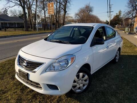 2012 Nissan Versa for sale at RBM AUTO BROKERS in Alsip IL