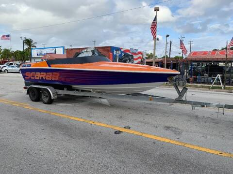 1990 SCARAB SCARAB for sale at BIG BOY DIESELS in Ft Lauderdale FL