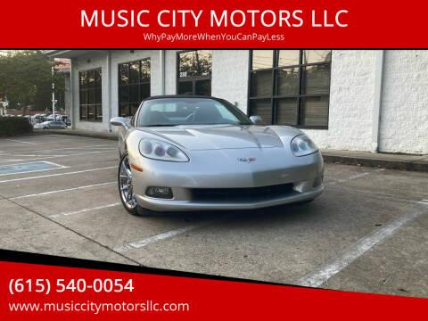 2005 Chevrolet Corvette for sale at MUSIC CITY MOTORS LLC in Nashville TN