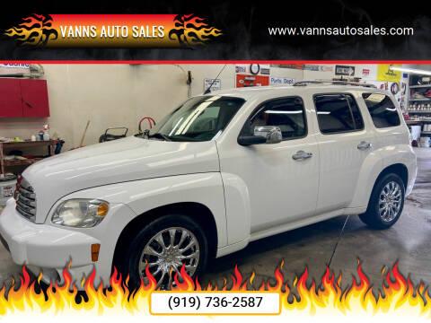 2011 Chevrolet HHR for sale at Vanns Auto Sales in Goldsboro NC
