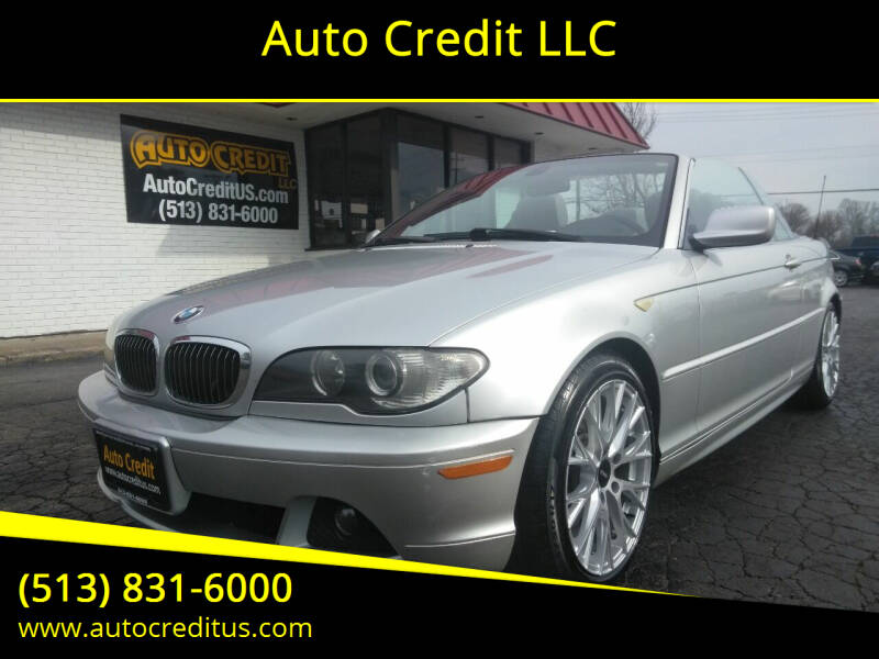 2004 BMW 3 Series for sale at Auto Credit LLC in Milford OH