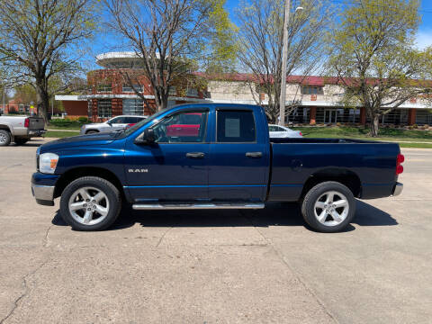 2008 Dodge Ram Pickup 1500 for sale at Mulder Auto Tire and Lube in Orange City IA