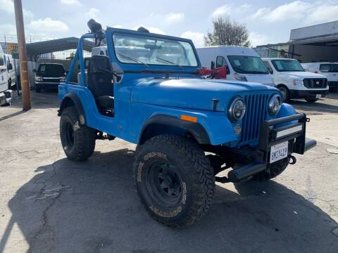 1976 Jeep CJ-5 for sale at Best Buy Quality Cars in Bellflower CA