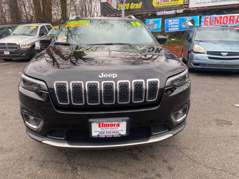 2019 Jeep Cherokee for sale at Elmora Auto Sales in Elizabeth NJ