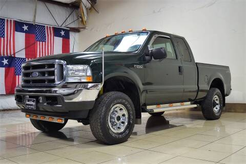 2003 Ford F-250 Super Duty for sale at ROADSTERS AUTO in Houston TX
