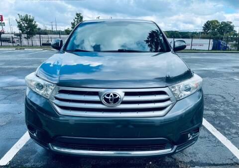 2013 Toyota Highlander for sale at BWC Automotive in Kennesaw GA