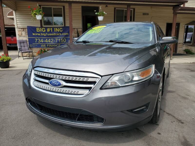 2011 Ford Taurus for sale at BIG #1 INC in Brownstown MI