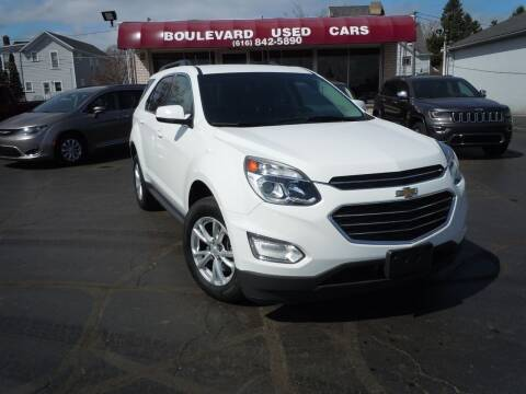 2017 Chevrolet Equinox for sale at Boulevard Used Cars in Grand Haven MI