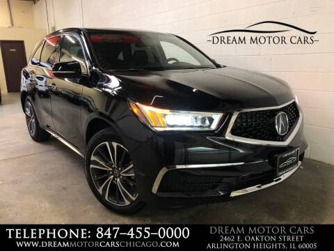 2020 Acura MDX for sale at Dream Motor Cars in Arlington Heights IL