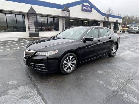 2016 Acura TLX for sale at Impex Auto Sales in Greensboro NC