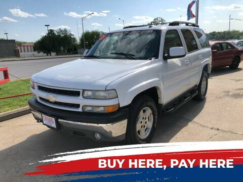 2005 Chevrolet Tahoe for sale at Central Auto Credit Inc in Kansas City KS