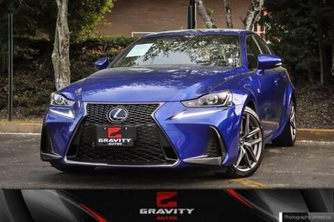 2019 Lexus IS 300 for sale at Gravity Autos Atlanta in Atlanta GA