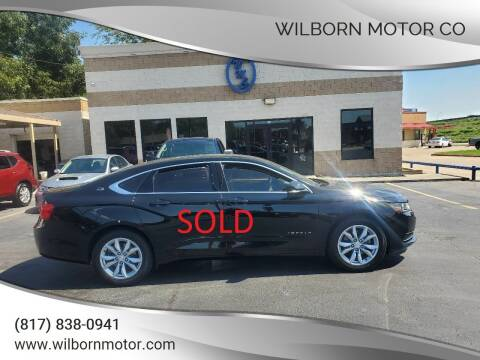 2016 Chevrolet Impala for sale at Wilborn Motor Co in Fort Worth TX