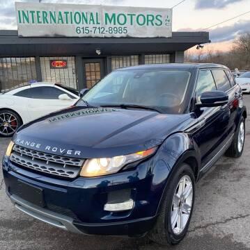 2012 Land Rover Range Rover Evoque for sale at International Motors Inc. in Nashville TN