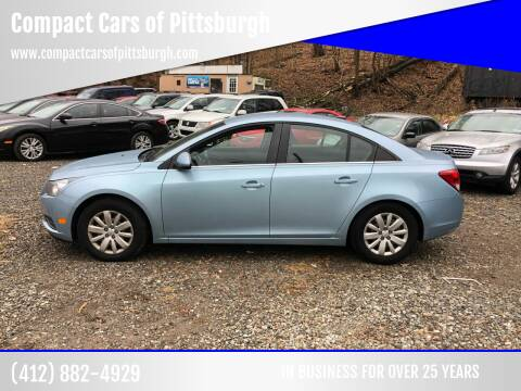 2011 Chevrolet Cruze for sale at Compact Cars of Pittsburgh in Pittsburgh PA