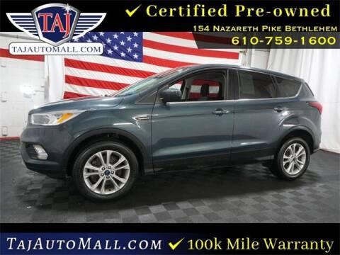 2019 Ford Escape for sale at Taj Auto Mall in Bethlehem PA