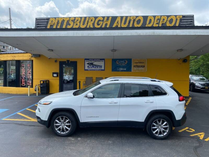 2018 Jeep Cherokee for sale at Pittsburgh Auto Depot in Pittsburgh PA