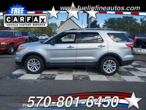2012 Ford Explorer for sale at FUELIN FINE AUTO SALES INC in Saylorsburg PA