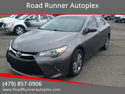 2017 Toyota Camry for sale at Road Runner Autoplex in Russellville AR