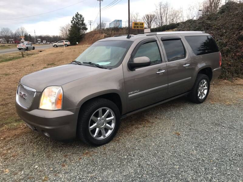 2013 GMC Yukon XL for sale at Clayton Auto Sales in Winston-Salem NC
