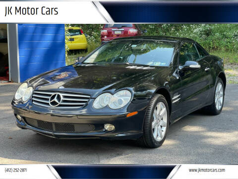 2003 Mercedes-Benz SL-Class for sale at JK Motor Cars in Pittsburgh PA