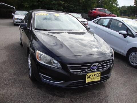 2015 Volvo S60 for sale at Easy Ride Auto Sales Inc in Chester VA