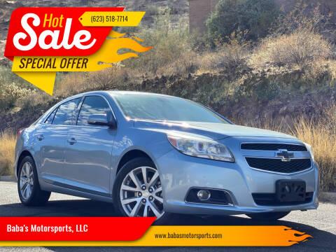 2013 Chevrolet Malibu for sale at Baba's Motorsports, LLC in Phoenix AZ