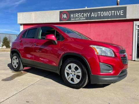 2015 Chevrolet Trax for sale at Hirschy Automotive in Fort Wayne IN