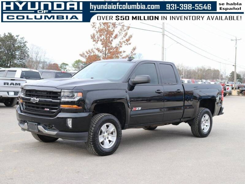 2017 Chevrolet Silverado 1500 for sale at Hyundai of Columbia Con Alvaro in Columbia TN