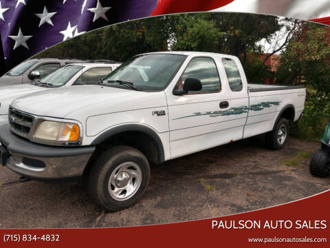 1997 Ford F-150 for sale at Paulson Auto Sales in Chippewa Falls WI