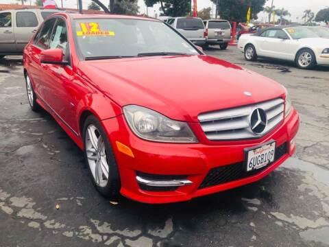 2012 Mercedes-Benz C-Class for sale at Auto Max of Ventura in Ventura CA