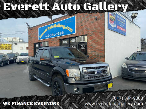 2013 Ford F-150 for sale at Everett Auto Gallery in Everett MA