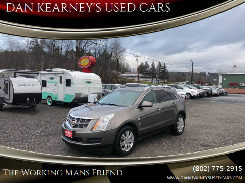 2012 Cadillac SRX for sale at DAN KEARNEY'S USED CARS in Center Rutland VT
