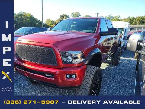 2015 RAM Ram Pickup 2500 for sale at Impex Auto Sales in Greensboro NC