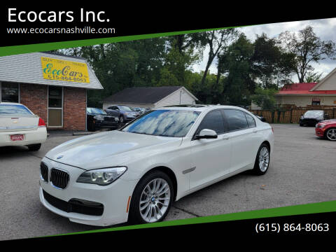 2013 BMW 7 Series for sale at Ecocars Inc. in Nashville TN