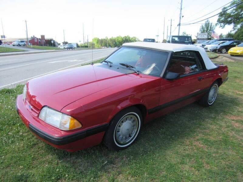 1987 Ford Mustang for sale at Dallas Auto Mart in Dallas GA