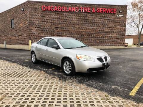 2006 Pontiac G6 for sale at CLT Auto Sales  & Service Center in Addison IL